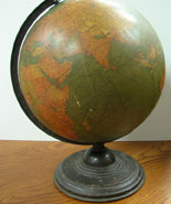 Globe used at Briscoe School