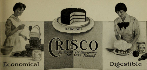Crisco ad from 1914