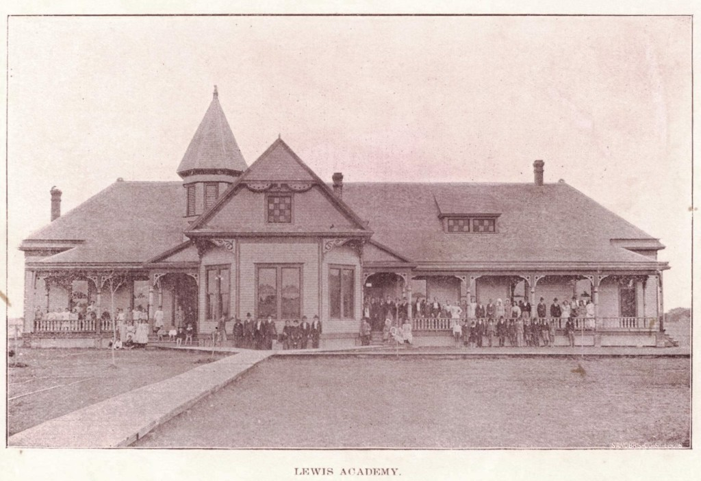 The Lewis Academy was in operation for only nine years (1894-1903) but was held in high esteem during its tenure.